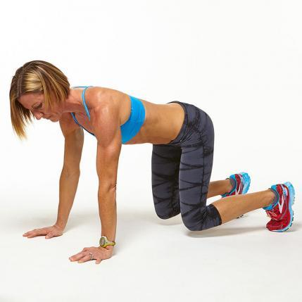 plank workout challenge crawl move