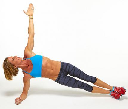 forearm side plank challenge workout move