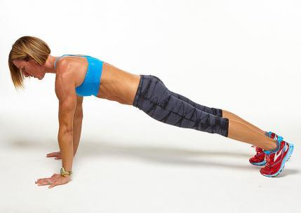 high plank challenge workout move