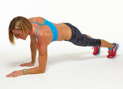 Plank Up-Downs challenge workout move