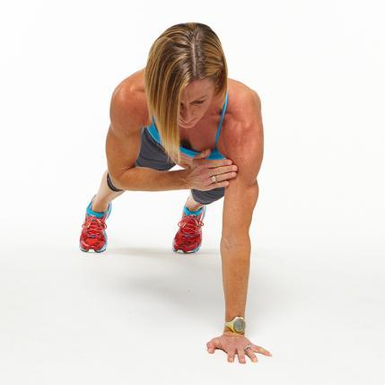 High Plank Shoulder Taps challenge workout move