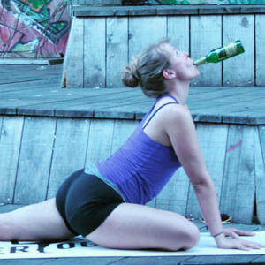 Beer Yoga is the Newest Workout Fad You Need to See to Believe