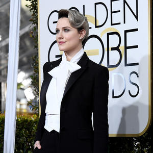 Evan Rachel Wood's Golden Globes Outfit Was About More Than Just Fashion