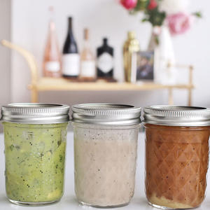 5 Healthy, 3-Ingredient Salad Dressings You Can Make In Minutes