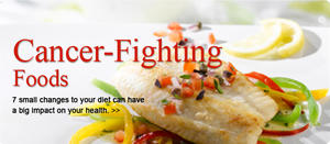 Cancer Fighting Foods in your Balanced Healthy Diet