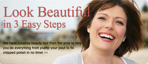Look Beautiful in 3 Easy Steps