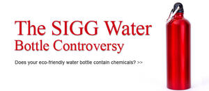 SIGG Water Bottle Controversy