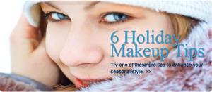 6 Quick Holiday Makeup Tips