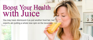 Boost Your Health with Juice