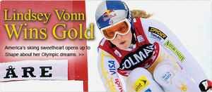 OLYMPIC WATCH: Lindsey Vonn Wins Gold