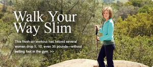 The Walking Diet: How to Walk Your Way Slim