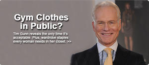 Project Runway Star Tim Gunn's Must-Know Fashion Tips