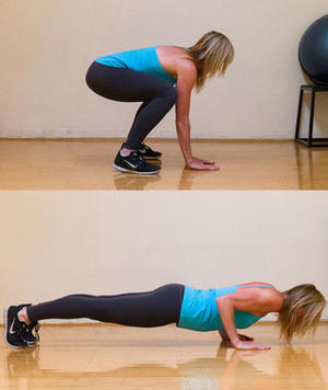 Three Ways to Ramp Up Your Burpees