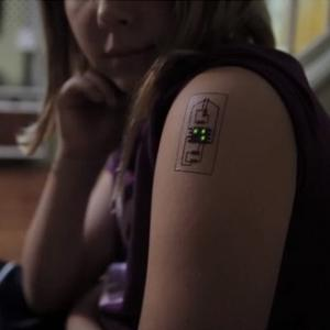 Your Fitness Tracker Could Soon Be a (Temporary) Tattoo
