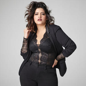 Plus-Size Model Denise Bidot Talks About Why She Loves Her Stomach