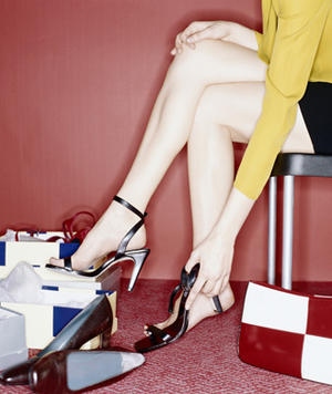 The Secret to Wearing High Heels Without Pain