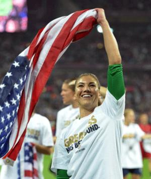 U.S. Women's Soccer Team Wins Olympic Gold!