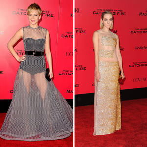 The Hunger Games Stars Show Some Skin!