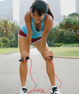 Burn and Firm Jump Rope Workout