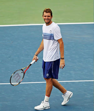 The Trainer Who Keeps U.S. Open Star Mardy Fish Fit and Healthy