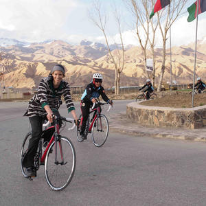 This Woman Is Using Cycling to Promote Gender Equality