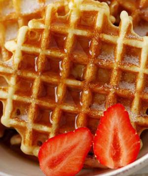 Healthy 5-Minute Waffles