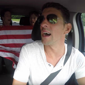 Watch The U.S. Swim Team's Epic Carpool Karaoke Montage