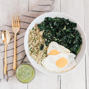 This Brown Rice Kale Bowl Is Anything But Basic
