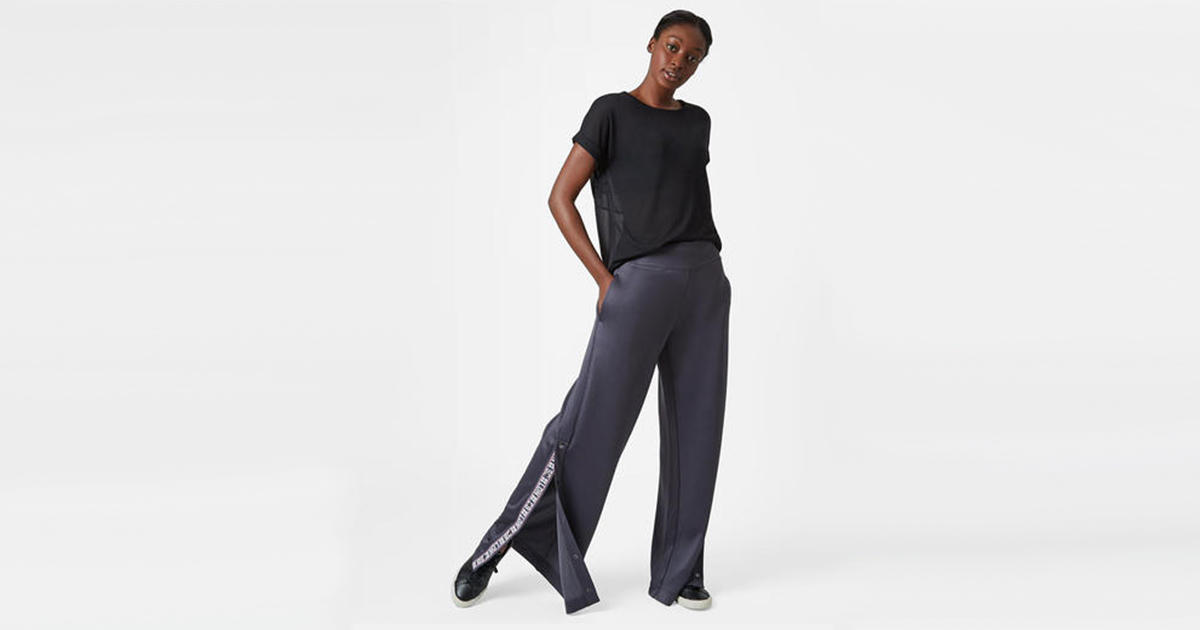 3c8e7113555 Cute and Sporty Track Pants with Snaps | Shape Magazine