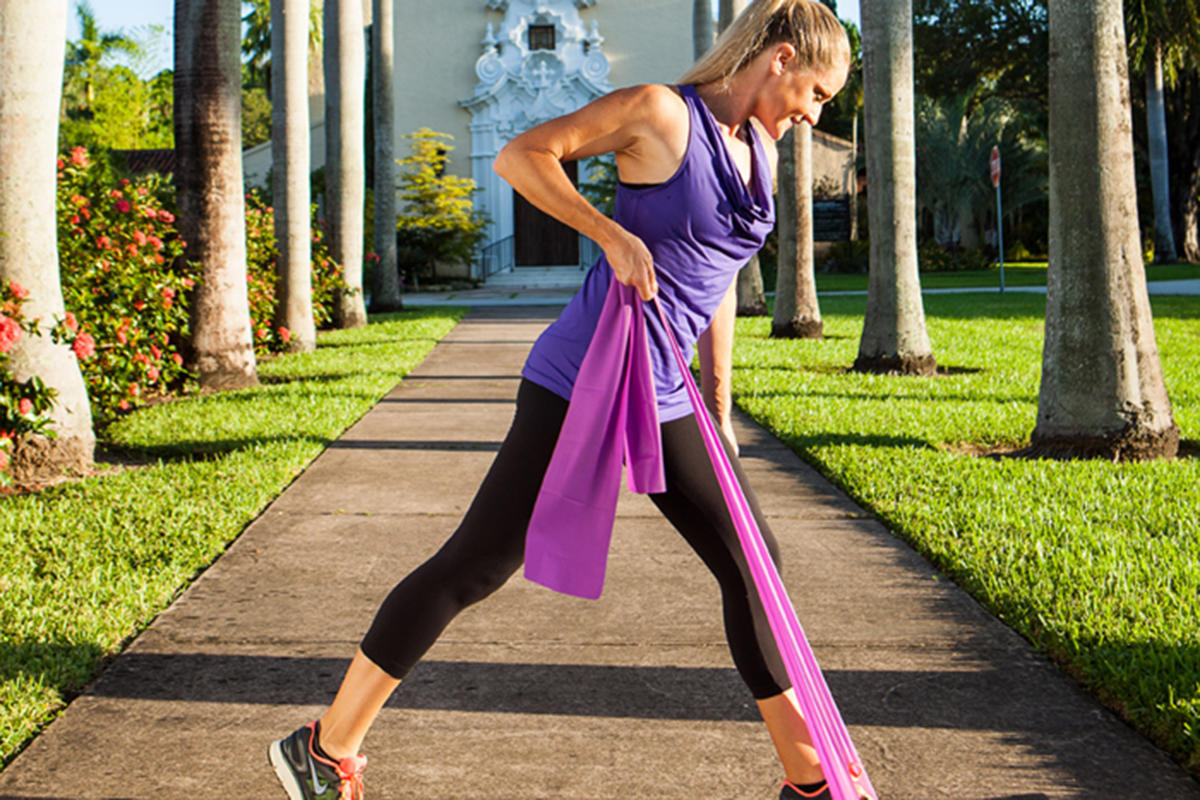 Resistance Band Workout 8 Resistance Exercises For Total