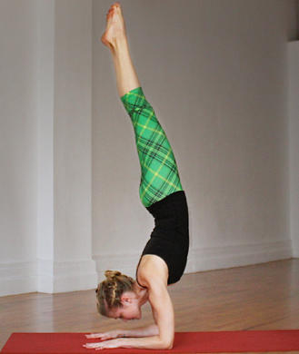 stepbystep yoga pose breakdown forearm stand  shape
