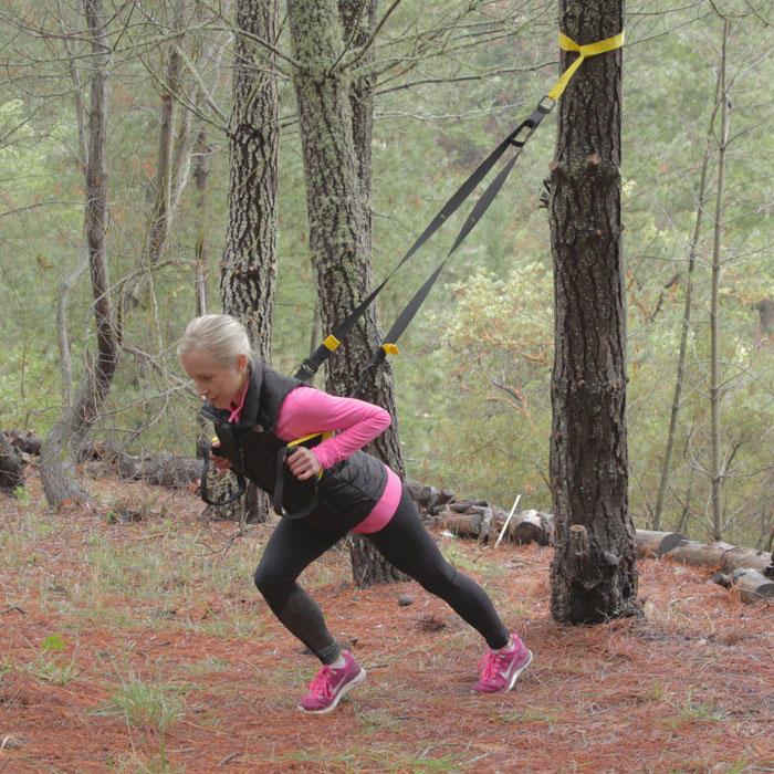 Outdoor TRX Suspension Training Workout Video | Shape Magazine