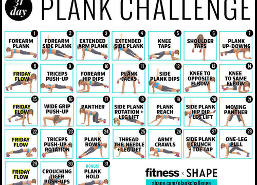 The Ultimate 30-Day Plank Challenge for Your Strongest Core Ever