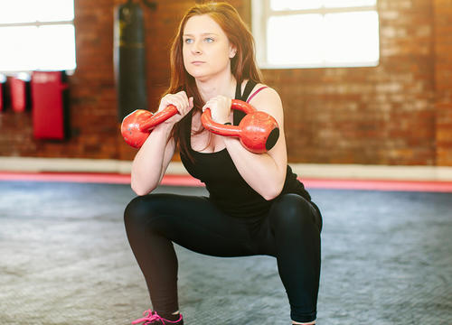 This Full-Body Kettlebell Workout Turns You Into a Total Powerhouse
