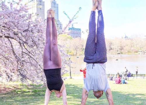 How to Nail a Yoga Handstand In 3 Weeks