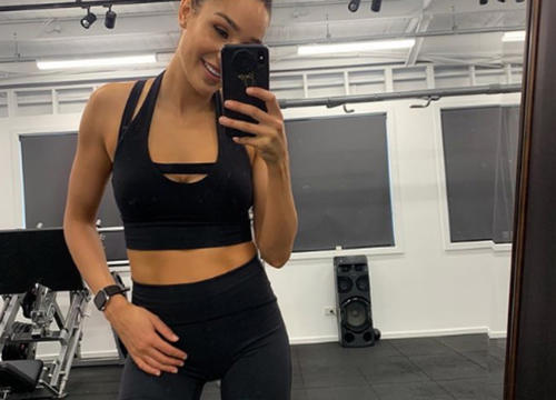Try This Exclusive Beginner Dumbbell Workout from Kayla Itsines' Latest Program
