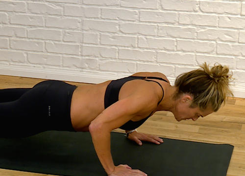 This Bodyweight Ladder Circuit Workout from Holly Rilinger Will Torch Every Muscles