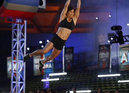Sandy Zimmerman Just Became the First Mom to Complete an American Ninja Warrior Course
