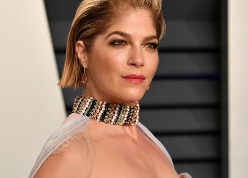 Selma Blair's 7-Year-Old Son Helped Her Shave Her Head Amid MS Battle