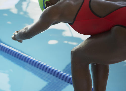 A Swimmer Was Disqualified from Winning a Race Because an Official Felt Her Suit Was Too Revealing