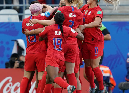 Why the Controversy Over the U.S. Women's Soccer Team's Winning Celebration Is Total BS