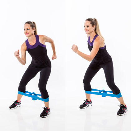 resistance band workout 7 butt exercises that really work