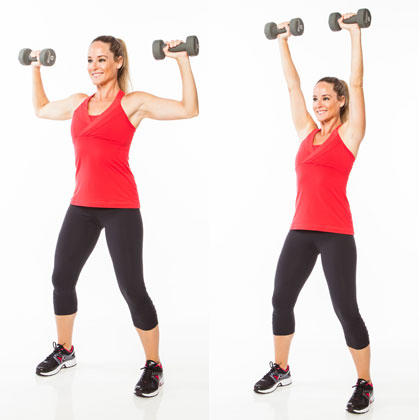 5minute arms workout with dumbbells  shape magazine