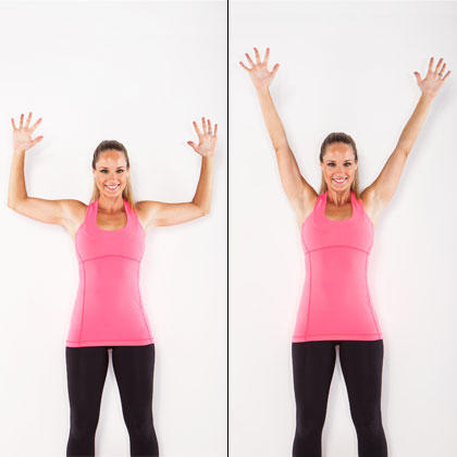 trapezius upper back exercise wall angels