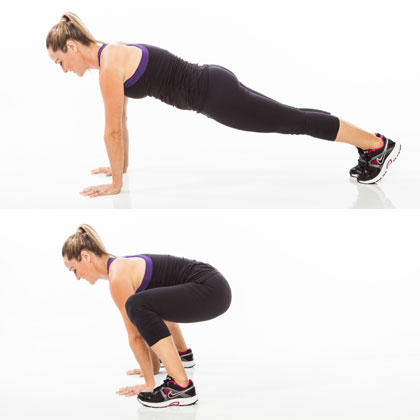 burn fat with this bodyweight exerciseonly cardio workout