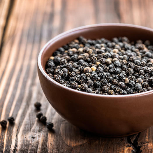 healthy spice black pepper