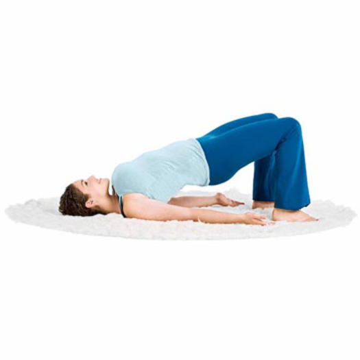 stretching before bed yoga pose bridge