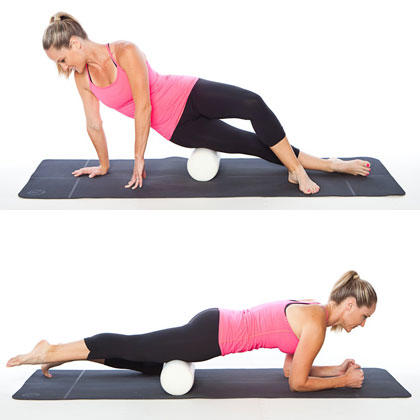 cracking my back with a foam roller