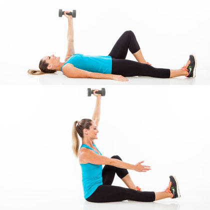 abs workout plan 6 weight exercises to get a sixpack