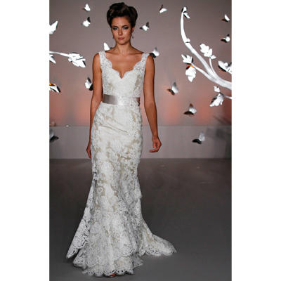 28111c90e99d Wedding Dresses: Our Favorite Styles Hot Off the Runway | Shape Magazine